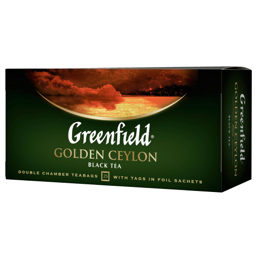 Чай Greenfield Golden Ceylon (25 пак.)