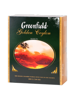 Чай чорний Greenfield Golden Ceylon (100 пак.)