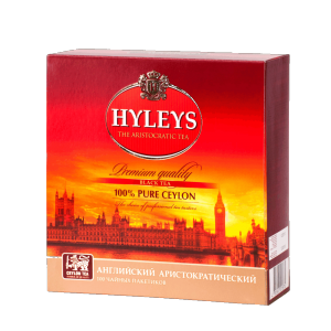 Чай Hyleys English Aristocratic (100 пак.)