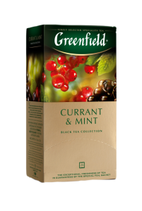 Чай Greenfield Currant&Mint (25 пак.)
