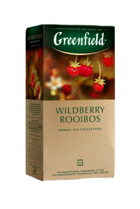Чай Greenfield Wildberry Rooibos (25 пак.)