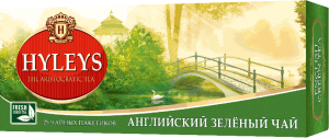 Чай зелений Hyleys English Green Tea (25 пак.)
