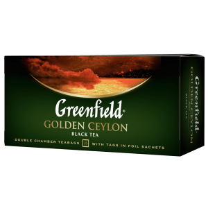 Чай чорний Greenfield Golden Ceylon (25 пак.)